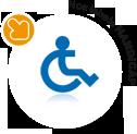 label : handicap